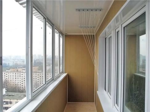 Картинки по запросу холодное остекление балкона фото