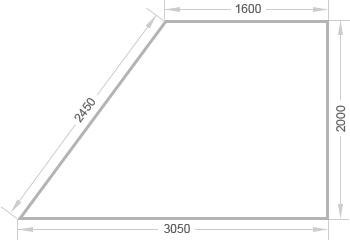 Отделка балкона трапеция в доме серии п-44т - цены на ремонт.