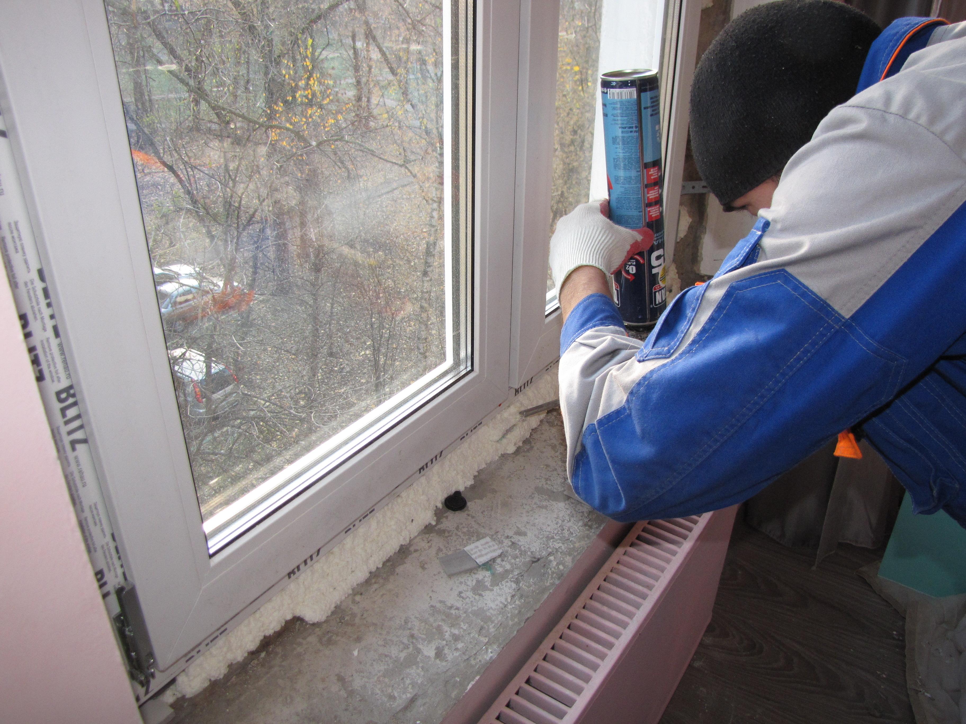 Установка пластиковых окон своими руками (фото, инструкция) 30