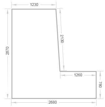 Отделка балкона сапожок в доме серии п-44 - цены на ремонт л.
