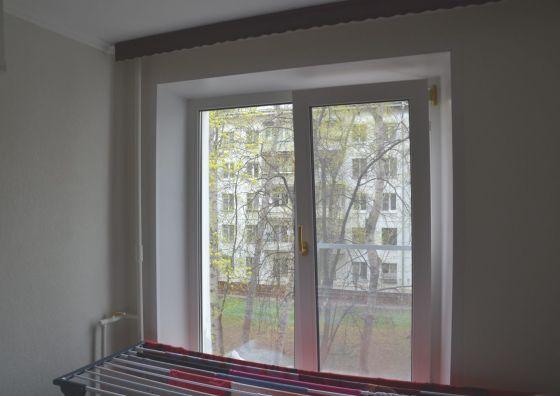 Остекление кухни и комнаты в квартире