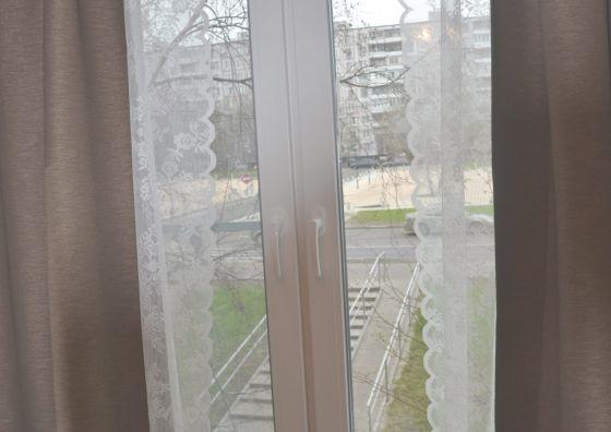 Демонтаж и установка окна в спальне