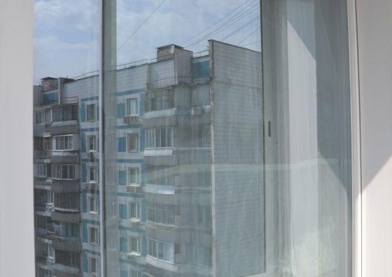 Пластиковый балконный блок