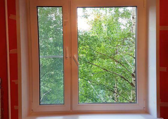 Установка окна и монтаж балконного блока