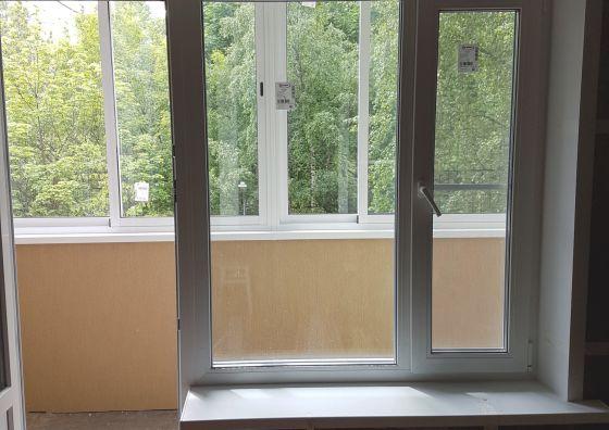 Монтаж балконного блока, холодное остекление и отделка балкона