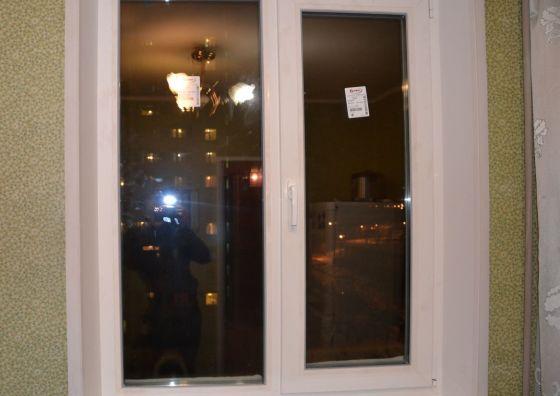 Установка окна на кухне