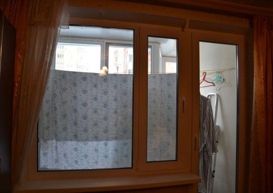 Установка балконного блока