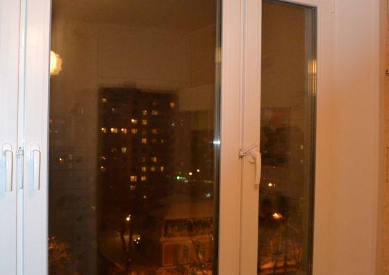 Монтаж окна и остекление балкона