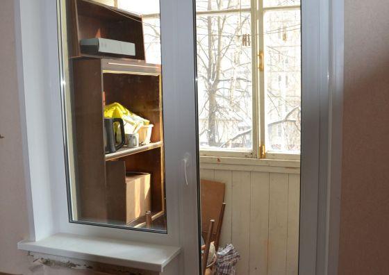 Замена балконного блока в квартире