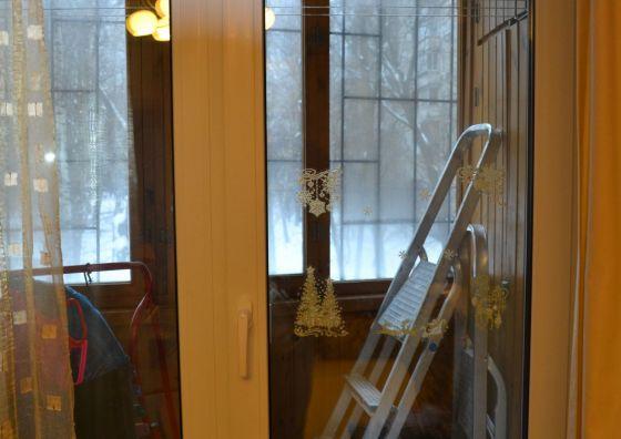Установка балконного блока ПВХ