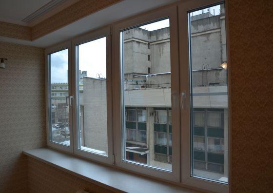 Остекление комнаты окнами ПВХ