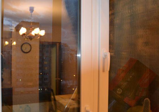 Монтаж балконного блока ПВХ