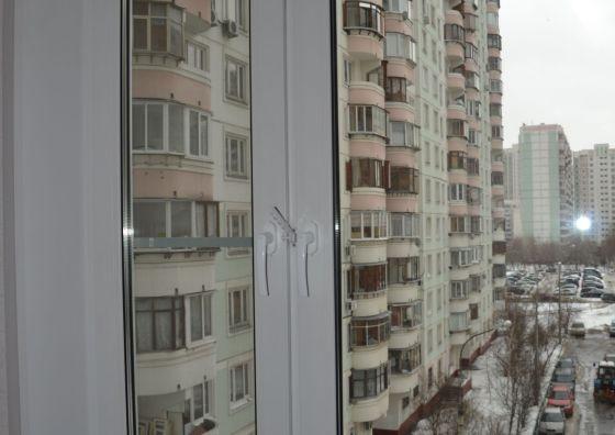 Замена старого окна на кухне