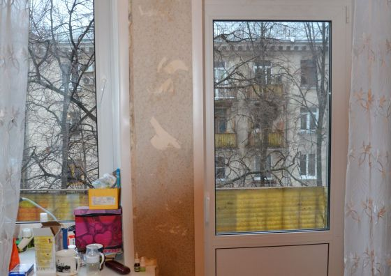 Устройство балконного блока