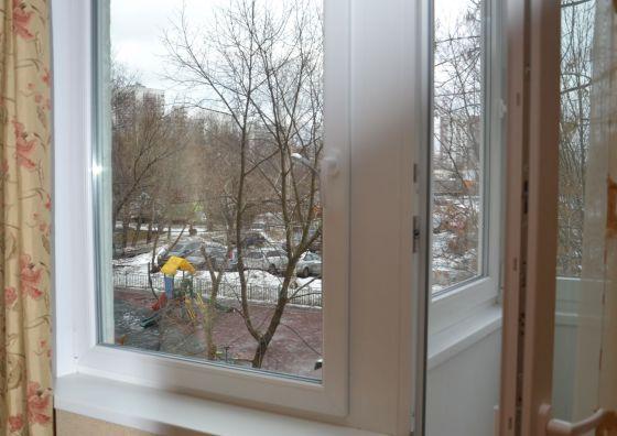 Монтаж блока балкона
