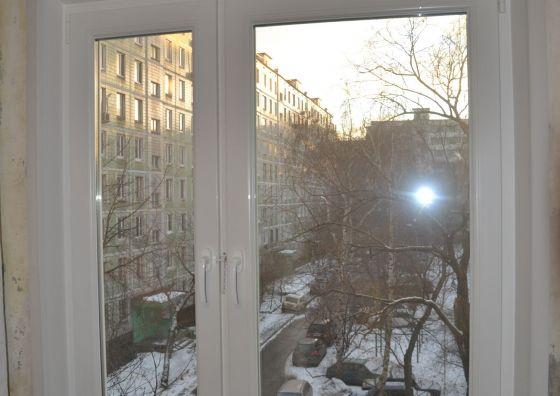 Замена деревянного окна пластиковым