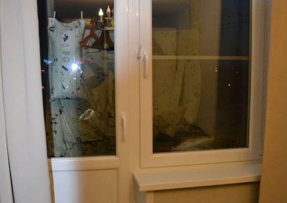 Монтаж пластикового балконного блока
