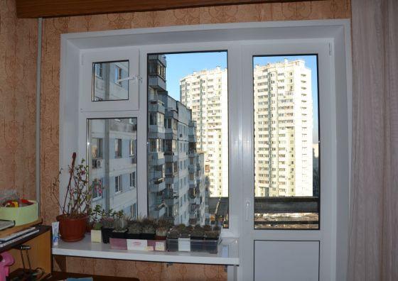 Устройство балконного блока ПВХ