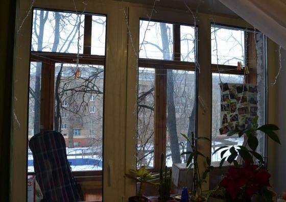 Замена балконного блока в комнате