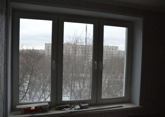 Замена окон в однокомнатной квартире