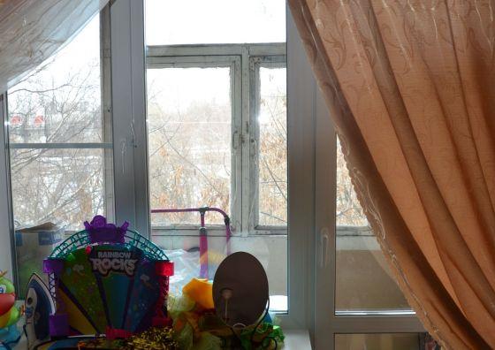 Замена балконного блока в гостиной