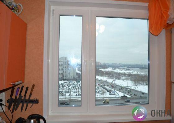 Установка кухонного окна