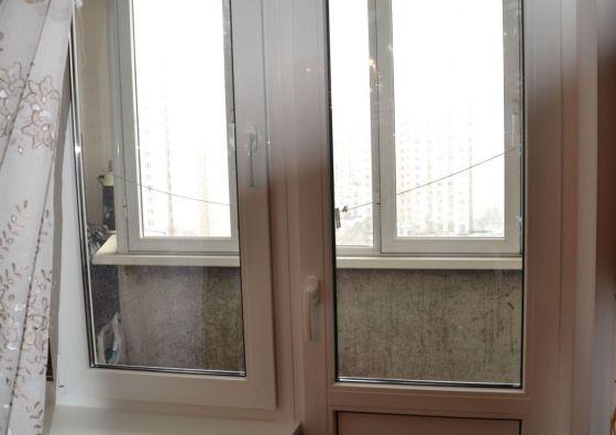 Замена балконного блока на пластиковый