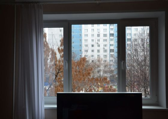 Замена трехстворчатого окна