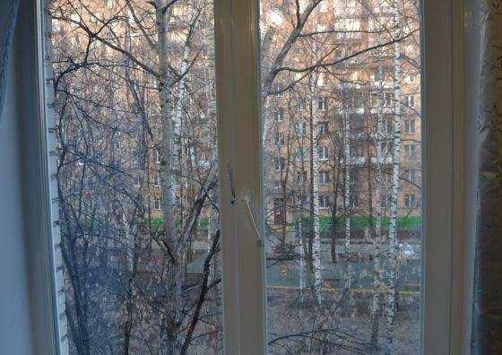 Замена двустворчатого окна на кухне